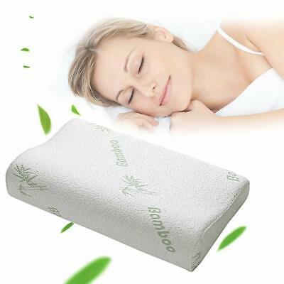 Contour Memory Foam Pillow Orthopaedic Firm Head Neck Back Support + Free Cover