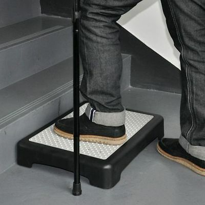 Outdoor Half Step Rubber Mat Indoor Non Slip Mobility Disability Elderly Aid