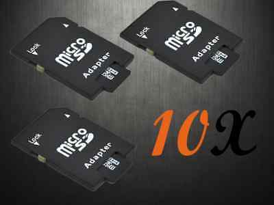 Micro SD to MicroSD Converter SDHC SDXC Memory Card Adapter for Camera PC Laptop
