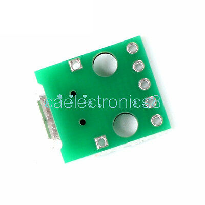 MICRO USB to DIP Adapter 5pin female connector B type pcb converter CA NEW