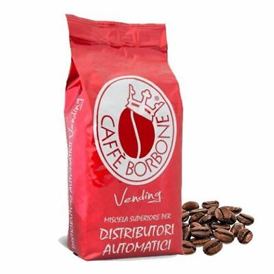 6 Bags Packages 1 Kg Coffee' Bourbon In Dowels Mixture Red Vending Original