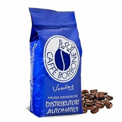 6 Bags Packages 1 Kg Coffee' Bourbon In Dowels Mixture Blue Vending Original