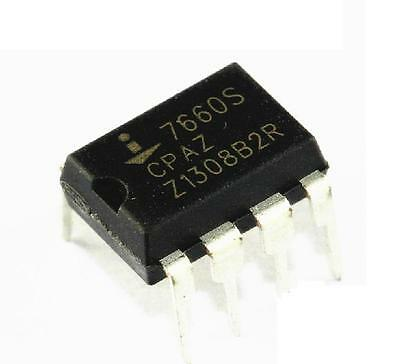 5PCS ICL7660SCPA ICL7660 DIP-8 Super Voltage Converter NEW CA