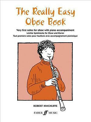 Really Easy Oboe Book (English) Paperback Book Free Shipping!