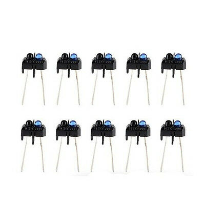 10pcs  TCRT5000 Reflective Photoelectric Switch Infrared Optical Sensor NEW CA