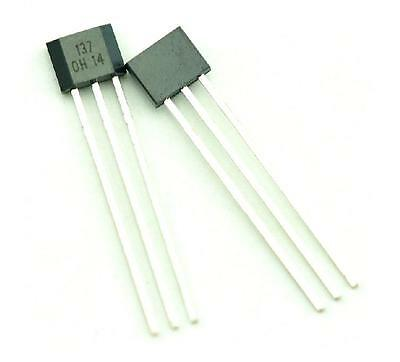 100pcs OH137 Hall Effect Unipolar Sensor IC OH 137 NEW CA