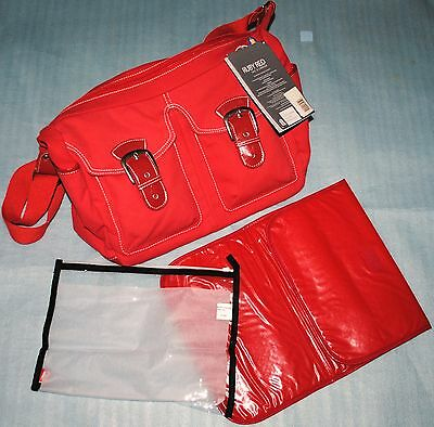 Sac à langer Ryco Ruby Red Rouge neuf