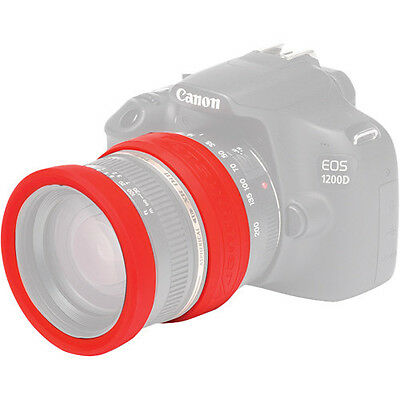 easyCover Lens Rim 58mm Red Lens Protection System Free US Shipping!