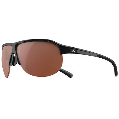 Adidas 2016 TourPro S Sunglasses - Shiny Black/Grey Frame - LST active silver