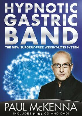 The Hypnotic Gastric Band(CD+DVD) by McKenna, Paul Book The Cheap Fast Free Post