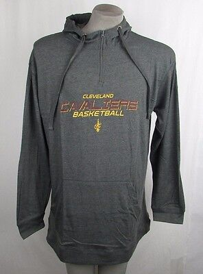 7ab9346fa34 Cleveland Cavaliers Men s Big   Tall XLT-5XL 1 4-Zip Pullover Hoodie