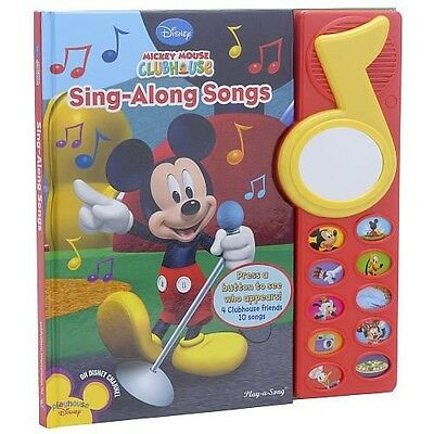 Publications International Mickey Mouse Clubhouse Sing-Along Songs Book