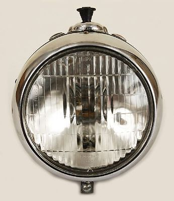 1965 Art Deco Style Vintage BMW Ural Café Motorcycle Moto Headlight Speedometer