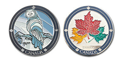 Canada Owl Collectible Coin