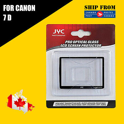JYC Pro LCD Screen GLASS Protector Cover For Canon 7D