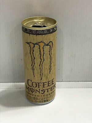 Monster Energy Drink Coffee 250ml From Japan. Top Open. Rare Collectors Can