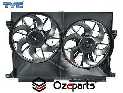 Ford Falcon XR6 XR8 AU Twin Thermo Radiator Fan with motors 1998~2002