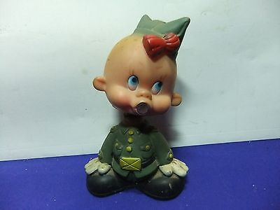 vtg bobble head gi joe baby rubber spain 1960s ? warner brothers looney tunes ?