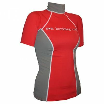 Lycra Shortarm female Damen Shirt Rashguard Surfshirt f. Neoprenanzug LSF 50+