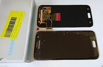 Samsung Galaxy S7 G930F Lcd Touch Screen Display Complete Original Genuine Black