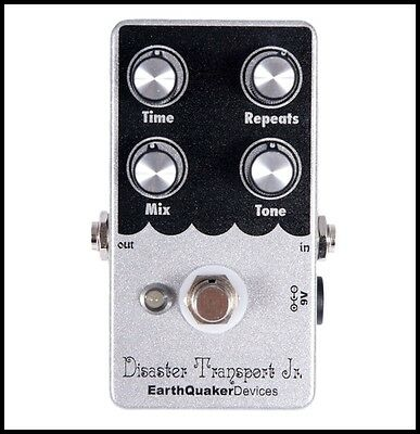 EarthQuaker Devices Disaster Transport Jr. Analog Digital Delay Effects Pedal