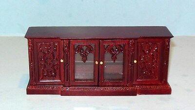 Vintage Bespaq Gothic Revival Sideboard Dollhouse Furniture  Miniatures