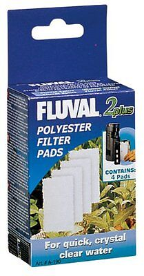 "Fluval 2 ""Plus"" Polyester Pad (4Pcs) Garden & Patio Replacement Polyester Pads"