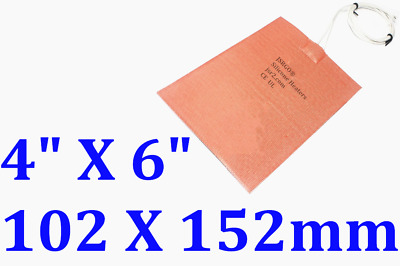 100 mm X 150 mm 12V 3W Heating at 10 Degree C 1PC Free Shipping Silicone Heater