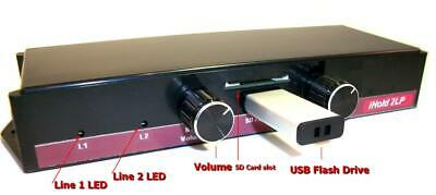 """iHold A2LP 2-Line Music On Hold for all 2-4 line regular telephones """"All-In-One"""""""