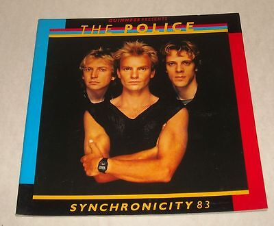 1983 The POLICE SYNCHRONICITY CONCERT TOUR BOOK