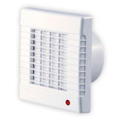 SIKU Ventilator Axial Lüfter 100 AZL Kugellager Jalousie 100mm Wand Decke Bad WC