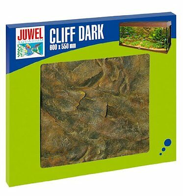 Juwel Aquarium Decorative Background Cliff Dark 600 X 550 Pet Supplies New