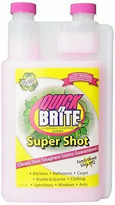 Quick N Brite Biodegradable/Concentrated Cleaner 32 oz Super Shot