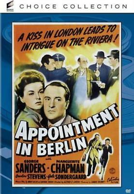 Appointment In Berlin New Dvd