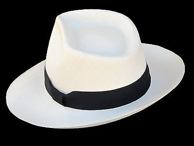 ... Genuine Panama Hat Montecristi Diamante Superfino Men Woman Straw  Fedora save off 201bf d0bde ... 09ef67a286b