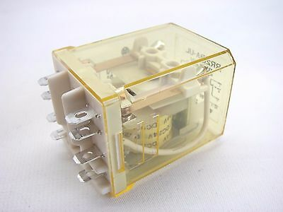IDEC Power Relay RR2BA-UL-DC24 DPDT 24VDC 10 Amp Non-Latching T30