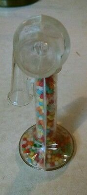 Vintage Telephone Candy Container, Full!  Woolwrth, Nice!