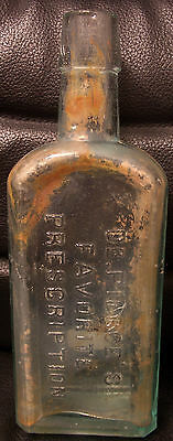 Vintage Dr. Pierce's Favorite Prescription Medicine Bottle, Buffalo NY, 1800's