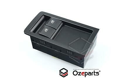 Holden Commodore VY VZ Ute Power Master Window Switch 2 Buttons Black