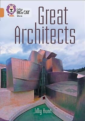 NEW Great Architects by Jilly Hunt Paperback Book (English) Free Shipping