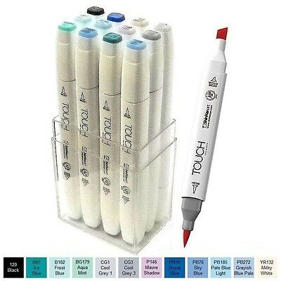 ShinHan Touch Brush Marker Winter Colors