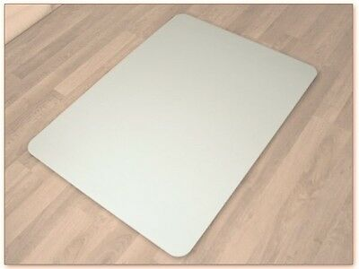 Universal Protection mat Chair Pad 120 x 90 cm for Laminate Parquet Floor white