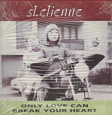 St. Etienne – Only Love Can Break Your Heart 1991 Warner Bros 0-40196 Usa
