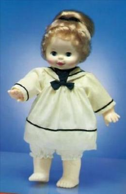"""Woopsie In White Sailor Outfit With Navy Trim By Ideal For  14"""" Doll"""