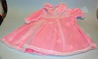 """Thumbelina Pink Dress With Matching Pants Lace Trimed By Ideal  25"""" Doll"""