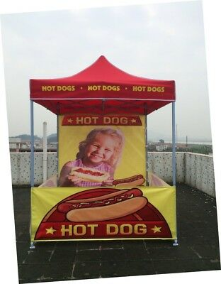 HOT DOG TENT **POPUP 3Mx3M** Amazing for Market Use! Suit all Machines **BRAND**