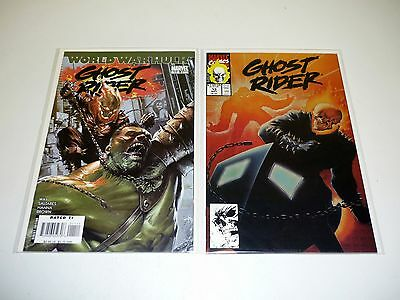 GHOST RIDER #12 13 Marvel Comic Books Lot Run of 2 Issues NM 1991