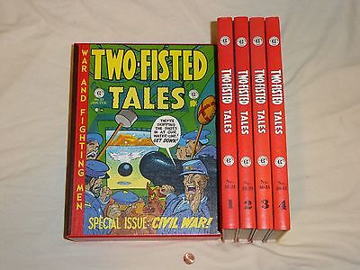 The Complete Two-Fisted Tales Comic Collection in 4 Hardcover Books w/ Slipcase