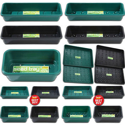 Garland Seed & Garden Tray Hydroponics Greenhouse Various Types Colours & Sizes