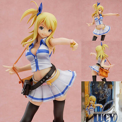 New Sexy Anime Fairy Tail Lucy Heartphilia 1/7 scale Painted PVC Figure Toy Gift